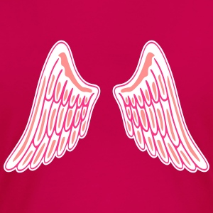 Angel Wings T-shirts - Premium-T-shirt dam