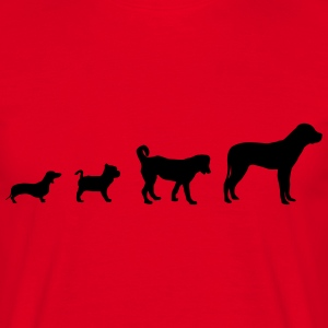 Dog Evolution  T-Shirts - Men's T-Shirt