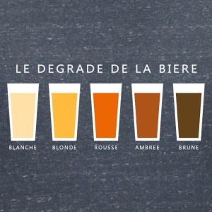 Biere degrade beer gradient (dd) T-Shirts - Women's V-Neck T-Shirt
