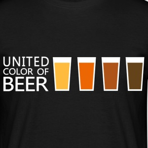 United Color of BEER v3 (dd) T-shirts - Mannen T-shirt
