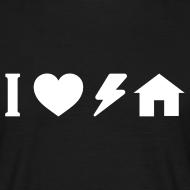 Design ~ I love electro house basic TS W Man
