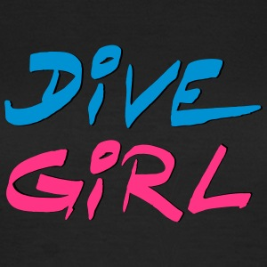 Dive Diving Girl Tauchen Shirt T-Shirts - Frauen T-Shirt