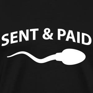 Sent and paid T-shirts - Mannen Premium T-shirt