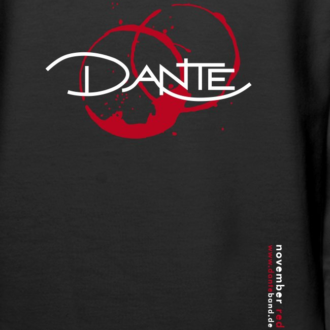 DANTE Women Hoodie black/red