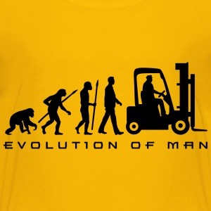 evolution_gabelstapler_122013_a_1c T-Shirts - Teenager Premium T-Shirt