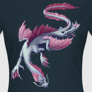 water dragon T-Shirts - Frauen T-Shirt