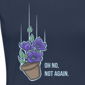 Thoughts of a falling bowl of petunias T-Shirts - Frauen Premium T-Shirt