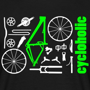 MTB Kit Cycloholic T-Shirts - Männer T-Shirt
