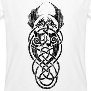 black celtic dragons - Men's Organic T-shirt