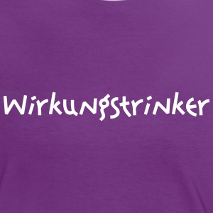 Wirkungstrinker T-Shirts - Frauen Kontrast-T-Shirt