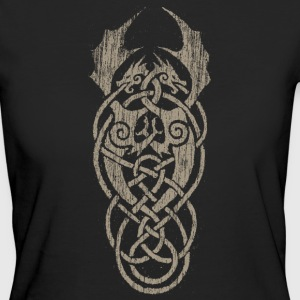 celtic dragon grey - Women's Organic T-shirt