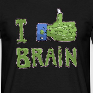 i like brain - T-shirt Homme