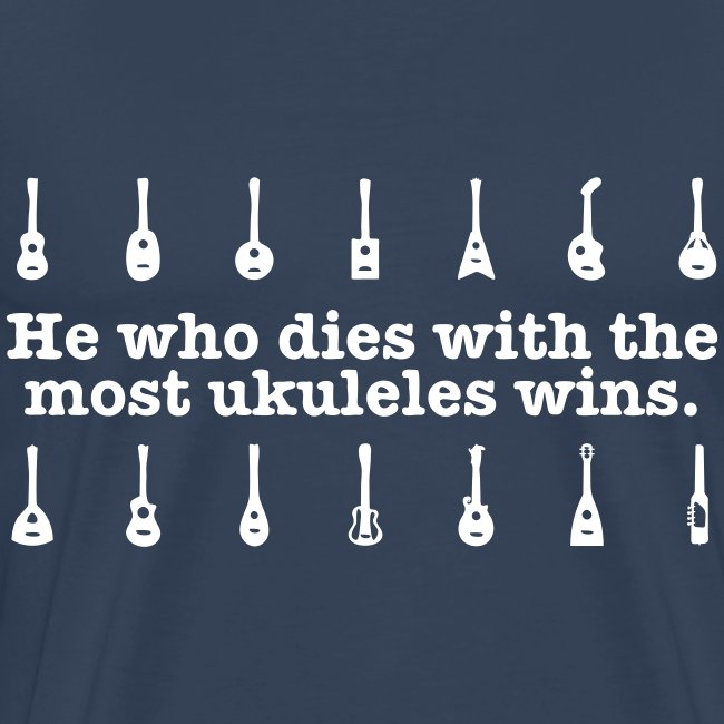 Ukulele T-shirt - light print