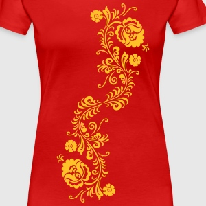 ornament T-Shirts - Frauen Premium T-Shirt