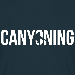 canyoning T-shirts - Mannen T-shirt