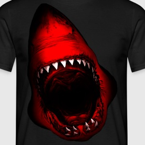 Shark Attack Tee shirts - T-shirt Homme