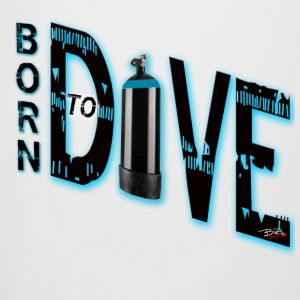 Born to dive - Bierkrug