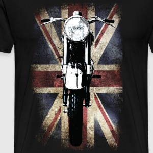 Vintage Motor Cycle BSA feature patjila T-Shirts - Men's Premium T-Shirt
