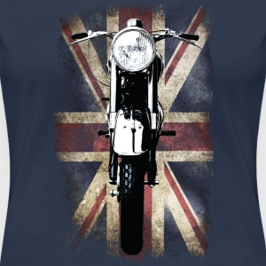 Vintage Motor Cycle BSA feature patjila T-shirts - Vrouwen Premium T-shirt