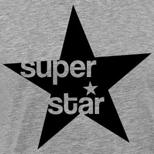 Super Star T-shirts - Mannen Premium T-shirt