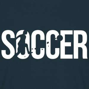 soccer football T-Shirts - Men's T-Shirt