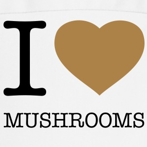 I ♥ MUSHROOMS - Tablier de cuisine