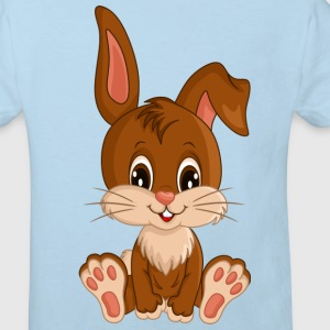 Bunny cartoon_boy.png T-Shirts - Kinder Bio-T-Shirt