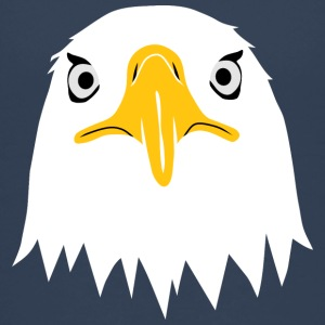 bald eagle head eyes beak Shirts - Teenage Premium T-Shirt