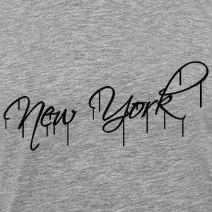 New York Graffiti T-Shirts - Männer Premium T-Shirt