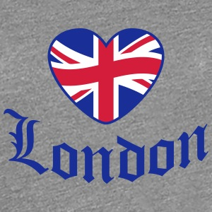 Love Old London Heart T-skjorter - Premium T-skjorte for kvinner