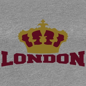 London Crown T-shirts - Dame premium T-shirt