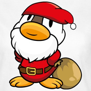 Duck Santa Claus T-Shirts - Women's T-Shirt