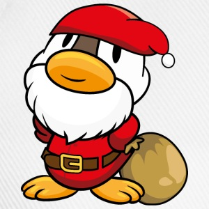 Duck Santa Claus Caps & Hats - Baseball Cap
