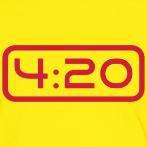 420 Clock Tee shirts - T-shirt contraste Homme