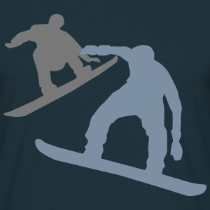 two Snowboarder T-Shirts - Men's T-Shirt