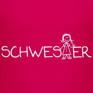 Schwester-Shirt - Teenager Premium T-Shirt