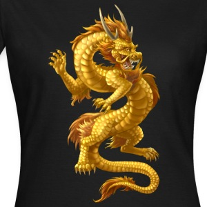 dragon chinoise d'or - T-shirt Femme