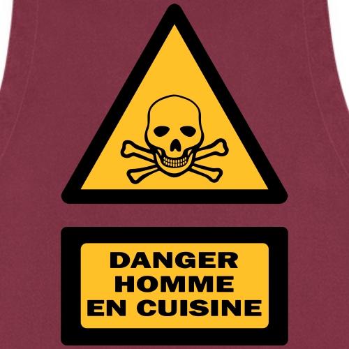 danger homme cuisine