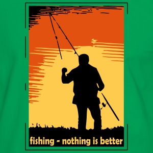 fishing - nothing is better T-Shirts - Men's Ringer Shirt
