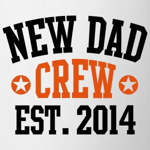 NEW DAD CREW Established 2014 2C Mug - Tasse