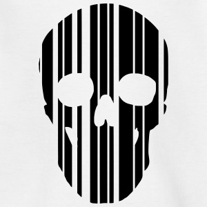 barcode skull Shirts - Teenage T-shirt