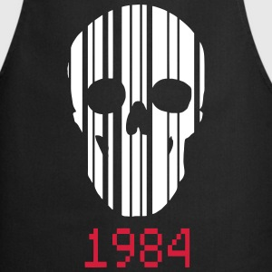 barcode Skull 1984  Aprons - Cooking Apron