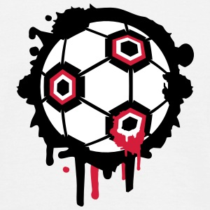 Un graffiti de football Tee shirts - T-shirt Homme