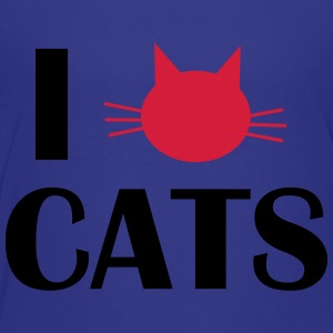i love cats Shirts - Teenage Premium T-Shirt