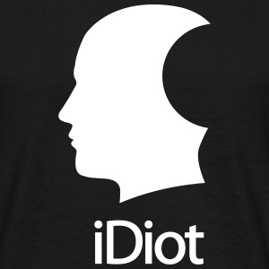 iDiot - T-shirt Homme