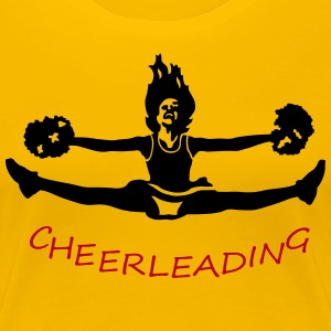 cheerleading T-shirts - Vrouwen Premium T-shirt