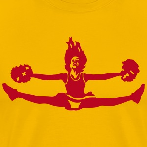 cheer T-shirts - Mannen Premium T-shirt