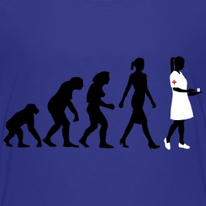 evolution_krankenschwester_122012_a_3c T-Shirts - Teenager Premium T-Shirt