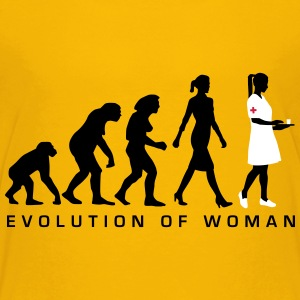 evolution_krankenschwester_122012_b_3c T-Shirts - Teenager Premium T-Shirt
