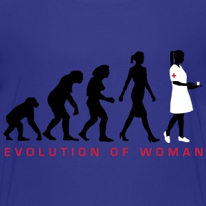 evolution_krankenschwester_122012_c_3c T-Shirts - Teenager Premium T-Shirt